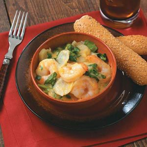 Scalloped Shrimp and Potatoes