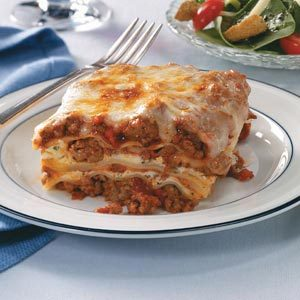 Make-Ahead Lasagna Recipe
