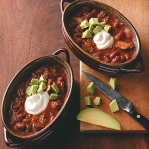 Hearty Vegetarian Chili Recipe