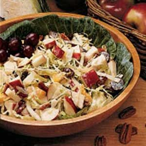 Cabbage Fruit Salad Recipe