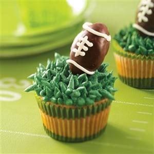 Truffle Football Cupcakes Recipe