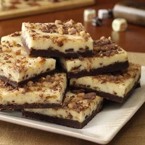 Toffee Cheesecake Bars Recipe