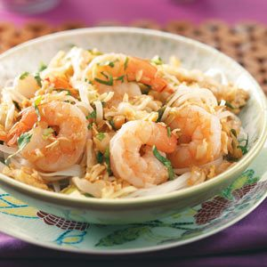 Shrimp Pad Thai for Two Recipe