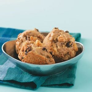 Apple Bran Muffins for Two
