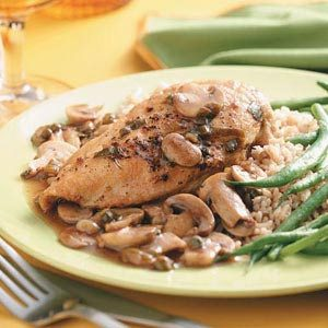 Chicken Continental for Two Recipe