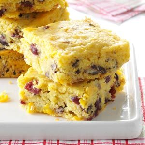 Cranberry Corn Bread Casserole Recipe