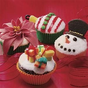 Ornament Cupcakes Recipe