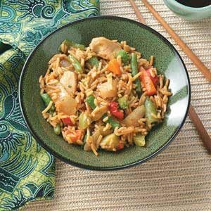Asian Chicken Skillet Recipe
