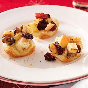 Brie-Apple Pastry Bites Recipe