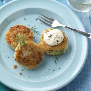 Crab Cakes with Chesapeake Bay Mayo Recipe