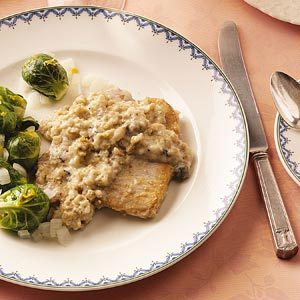 Unstuffed Pork Chops Recipe