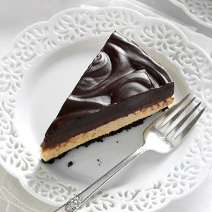 Chocolate & Peanut Butter Mousse Cheesecake Recipe