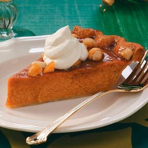 Sweet Potato Praline Pie