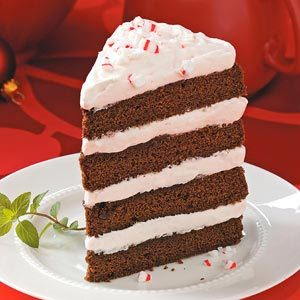 Fudgy Peppermint Stick Torte Recipe