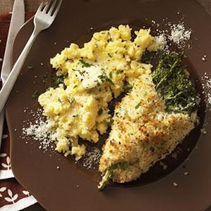 Chicken Stuffed with Broccolini & Cheese Recipe