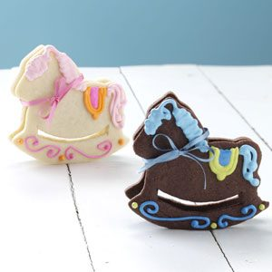 Rocking Horse Cookies