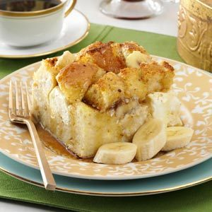 Baked Banana French Toast Recipe