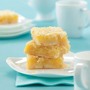 Coconut Citrus Bars Recipe