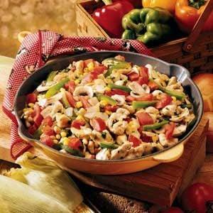 Chicken and Corn Medley Recipe