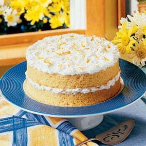 Orange Dream Cake Recipe