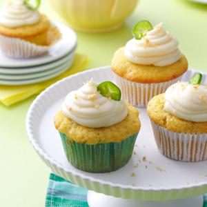 Jalapeno Popper Corn Cupcakes Recipe