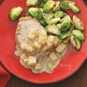 Pork Chops Normandy Recipe