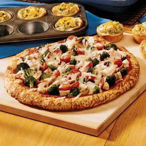 Chicken and Pepperoni Pizza Recipe