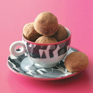 Light Chocolate Truffles Recipe