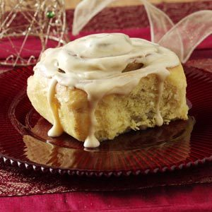 Pumpkin Eggnog Rolls Recipe