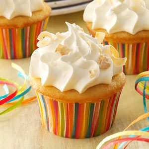 Coconut Tres Leches Cupcakes Recipe