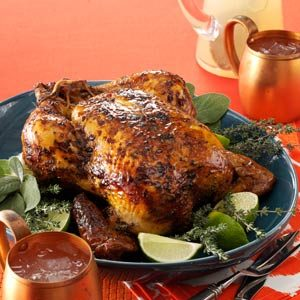 Roasted Lime Chicken