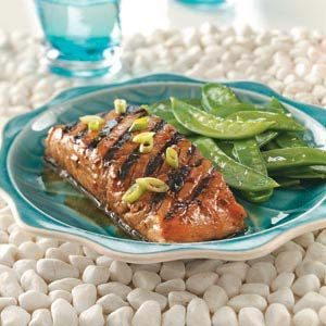 Firecracker Grilled Salmon Recipe