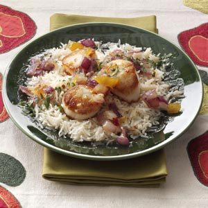 Spicy Mango Scallops Recipe
