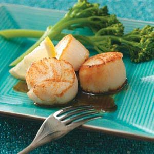 Scallops with Citrus Glaze Recipe