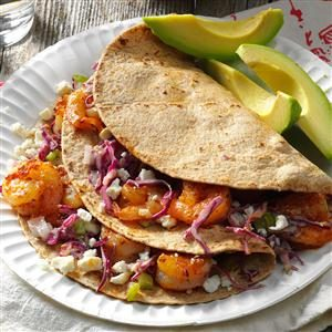 Feta Shrimp Tacos Recipe