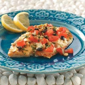 Greek Tilapia Recipe
