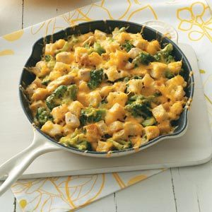 Chicken Cheese Strata
