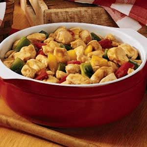 Chicken 'n' Peppers Recipe