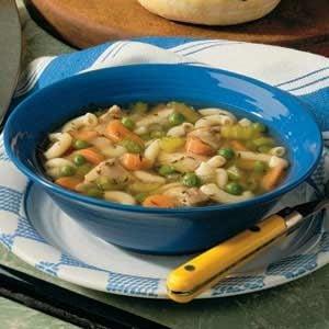 Chunky Chicken Soup Recipe