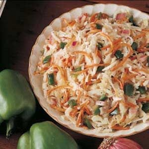 Overnight Coleslaw Recipe