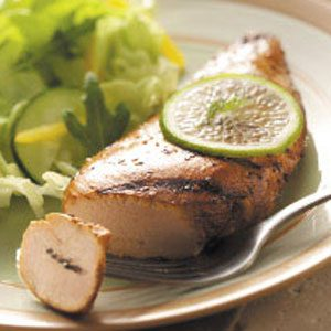 Quick Garlic-Lime Chicken Recipe