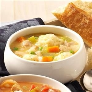 Grandma's Chicken 'n' Dumpling Soup Recipe