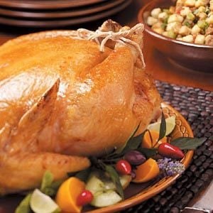 Roasted Chicken with Sausage Stuffing Recipe