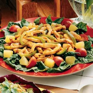Stir-Fry Spinach Salad Recipe