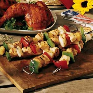 Supreme Kabobs Recipe