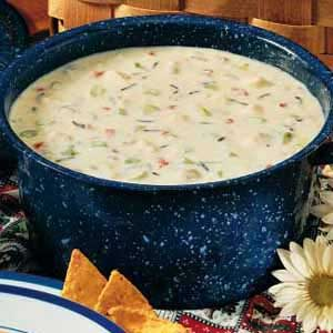Simple Wild Rice Soup