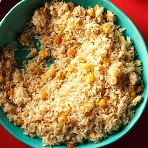 Rice Pilaf with Apples & Raisins Recipe photo by Taste of Home