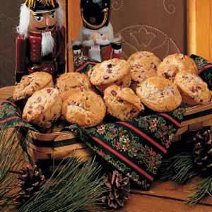 Pecan Cranberry Muffins Recipe