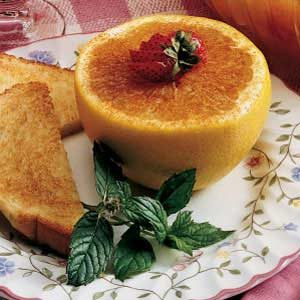 Cinnamon-Honey Grapefruit Recipe