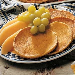 Cornmeal Hotcakes Recipe